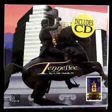 32c 1996 TENNESSE STATEHOOLD STAMP FOLIO W/ CD - SEALED  (ESP#N1317-2)