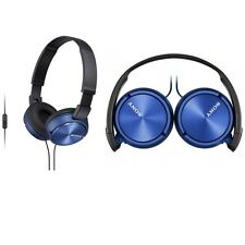 Sony MDR-ZX310AP/L Headphones Sound Monitoring MDRZX310AP Blue /GENUINE