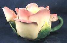 "Teapot ""Rose"" Hand Made Decorative Porcelain home decor"