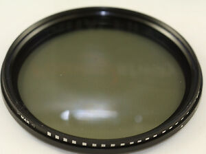 82mm Slim Fader Variable ND Lens Filter Adjustable Neutral Density ND2-400 USA