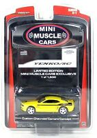 GREENLIGHT 50650 YELLOW 1:64 2008 2009 2010 CHEVROLET CAMARO DON YENKO DIECAST