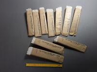 Lot de 10 anciens filtres à café vintage neufs n° 5 PRAT DUMAS old coffe filters