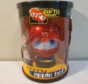 Vintage 2000 Johnny Bot - Apple Bot - Interactive Robot Toy - VERY RARE