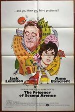 Poster US the Prisoner of the Second Avenue Jack Lemmon Anne Bancroft*