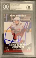 2010 2011 UPPER DECK Jeff Skinner AUTO YOUNG GUNS AUTOGRAPH RC ROOKIE BGS PSA 1?
