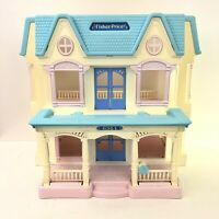 Vintage Fisher Price 1993 Loving Family Folding Dream Dollhouse 6364