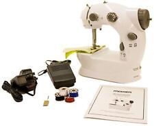 Mini Stitch Portable Sewing Machine Handheld Bobbins Foot Pedal Needle threader