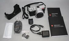Leica D-lux 7 Digital Camera - Silver w/ Accessories  USED ONE TIME