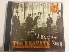 THE KRAVATS CD rare by canetoad records, tasmania, oop , no barcode, the beatles