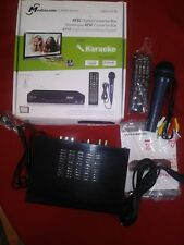 Mediasonic Homeworx Hw180stb HD TV Converter Box W/ Karaoke HDMI Out Microphone
