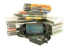 Sony PlayStation Portable Bundle-games, new battery and charger (PSP-1001)