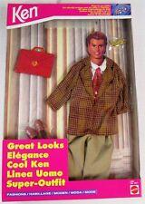 Ken, Boyfriend of Barbie, Plaid Sports Coat Ensemble Great Looks Fashion Pack ..