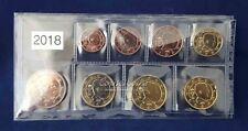 België 2018 serie 1 cent t/m 2 euro UNC