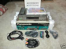Panasonic NV-HS860 S-VHS ET Videorecorder, viel Zubehör, 2 Jahre Garantie