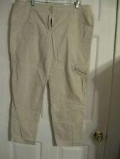 pants liz claiborne 98% cotton 2% spandex 16