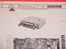 1974 BOMAN ASTROSONIX AM-FM-MPX RADIO SERVICE MANUAL DP-5000 CHEVROLET FORD