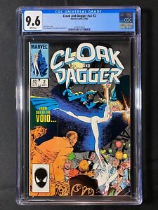 Cloak and Dagger #v2 #2 CGC 9.6 (1985)