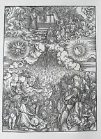 ALBRECHT DÜRER - Apokalypse des Johannes. Faksimile-Drucke vom Stock. Prestel.
