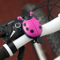 Novelty Childrens Bike Bell Bicycle Boys Girls Ladybird Bug Funny Design Applied