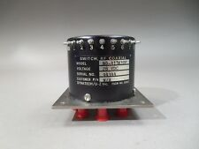 Dynatech 28V SMA RF Coaxial Switch N8-413K10F