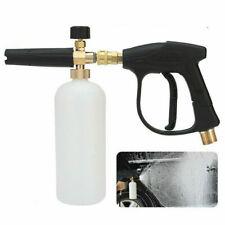 1/4 Snow Foam Washer Gun Soap Lance Cannon Spray Pressure Jet Bottle Car Wash US