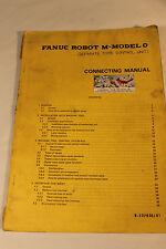 FANUC B-53703E/01  ROBOT M-MODEL 0 CONNECTING MANUAL