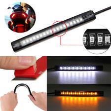 18 LED Motorcycle Flexible ATV Tail Brake Stop Turn Signal Strip Light Lamp Bulb