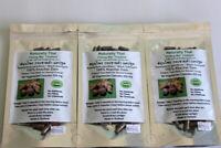 Thai Black Ginger 100% - 180 Caps 500mg -  Krachai Dam - Kaempferia parviflora