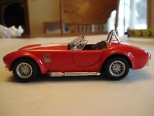 1965 Shelby Cobra 427 S/C 1:32 Scale Die Cast Metal Car - RED