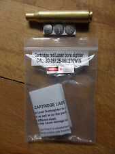 CARTUCCIA LASER COLLIMATORE CAL 30-06 270 WIN Laser Bore Sight BoreSighter