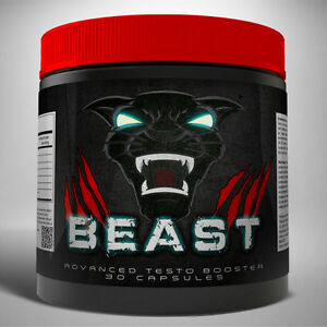 BEAST - STRONGEST LEGAL TESTO BOOSTER!! GAME CHANGING 5X STRENGTH FORMULA
