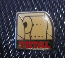 Wonderful Advertising Pin Badge for Total fuel oil