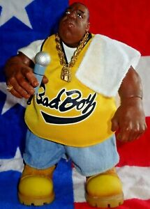 👑The Notorious B.I.G🎤Mezco💿Comic Con Exclusive Juicy Figure 2008 Bad Boy🎵1