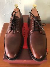 Carmina Plain Toe Blucher Brown, Pristine condition - 7 UK ( 8 / 8.5 US)