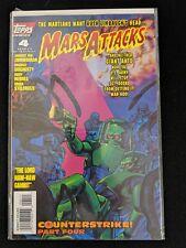 Mars Attacks 1995 2nd Series #4 Topps Comics 1996 Comic Book FREE bag/board