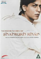 THE INNER OUTER WORLD OF SHAHRUKH KHAN - NEW BOLLYWOOD DVD - FREE UK POST