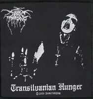 Darkthrone PatchTransilvanian Hunger Woven Patch