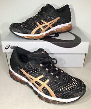 Asics Gel-Quantum 360 5 JCQ Women's Sz 6.5 Black/Rose Gold Running Shoes X4-853