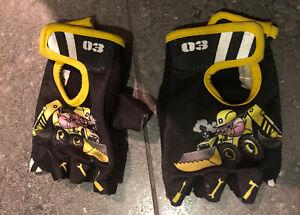Child's Small Biking Cycling Gloves