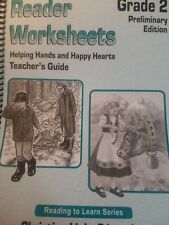 Reader Worksheets Helping Hands and Happy Hearts Teacher's Guide Preliminary Ed