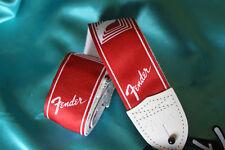 Fender Custom Monogrammed Strap, Candy Apple Red, MPN 0990627009