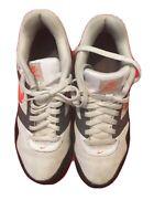 RARE🔥 Nike Air MaxNavigate Total Orange Wolf blackWhite Sz 8.5 Men's 454251-188