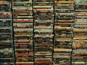 DVD Bulk Lot ACCEPTABLE CONDITION Choose Your Title Most Discs $4.30 Free Post