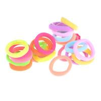 50Pcs Baby Girls Children Elastic Hair Ties Band Rope Ponytail Holder Headband F