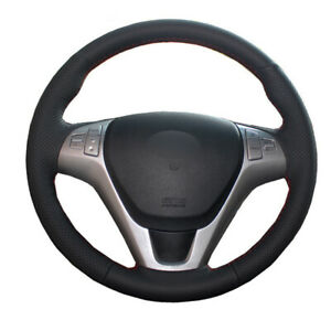 DIY Car Steering Wheel Cover For Hyundai Genesis Coupe 2010 - 2014 2015 2016