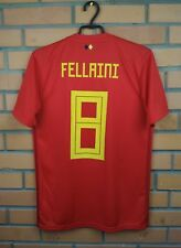 Fellaini Belgium jersey small 2017 2018 home shirt BQ4520 soccer football Adidas