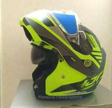Hjc Cl-Max3 Gallant Snowmobile Helmet Hi-Viz Md Medium Modular Sunscreen