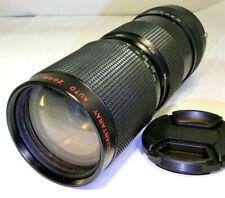 Quantaray 85-210mm f4.5 OM Lens prime manual focus for OM-1 2n