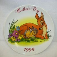 Vintage 1999 Walt Disney Bambi Near & Dear Mother's Day Plate
