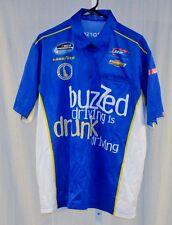 Regan Smith JR Motorsports Buzzed Driving NASCAR Pit Crew Shirt large